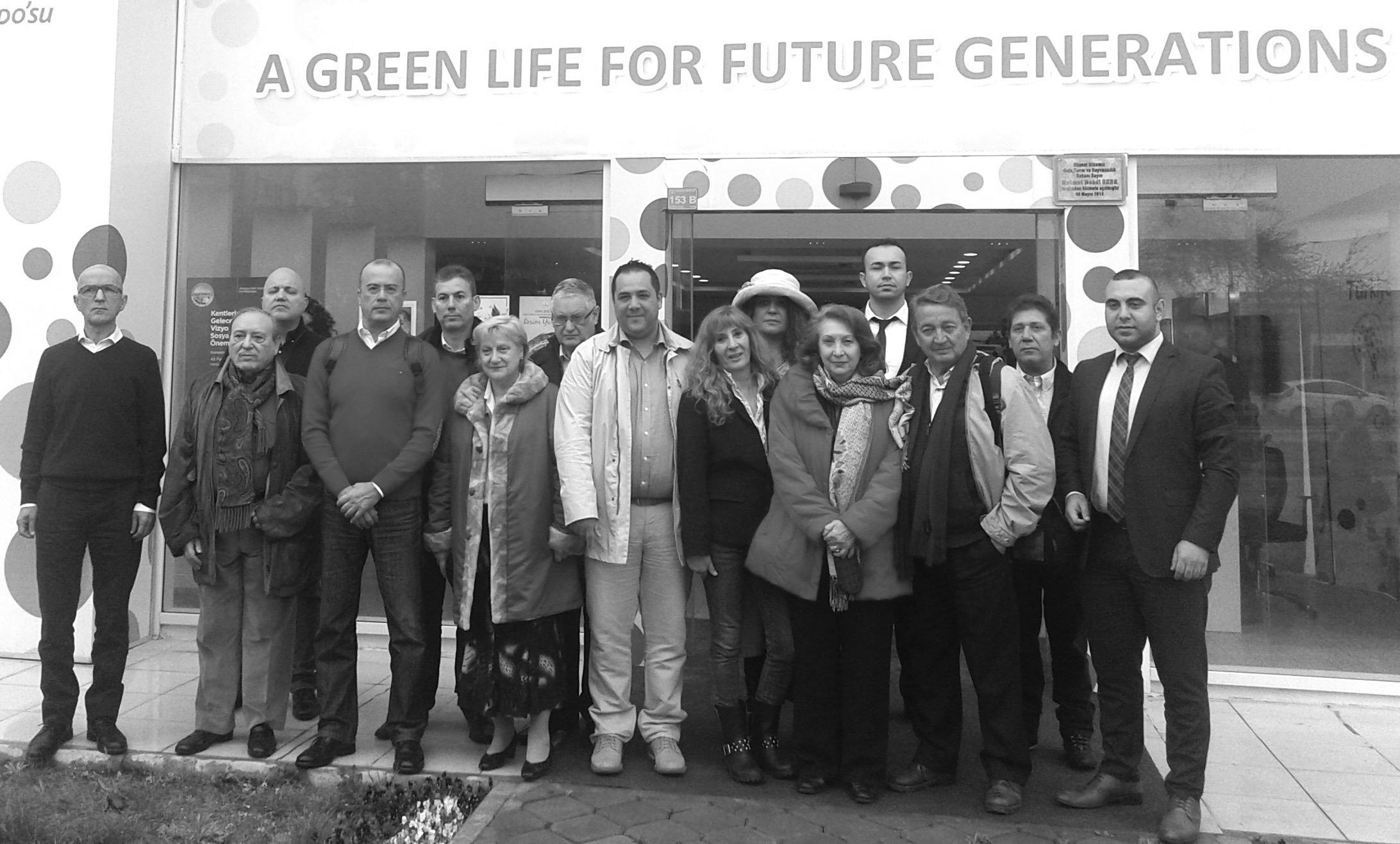 Miembros de FIJET en las instalaciones de Expo Antalya 2016